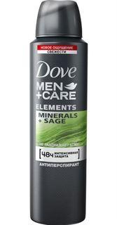 Средства по уходу за телом Дезодорант-антиперспирант Dove Men+Care Свежесть минералов и шалфея 150 мл