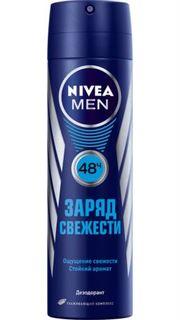 Средства по уходу за телом Дезодорант Nivea Men Заряд свежести 150 мл
