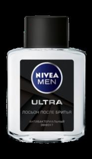 Средства для/после бритья Лосьон после бритья Nivea антибактериальный ultra 100 мл