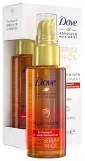 Средства по уходу за волосами Масло-сыворотка для волос Dove Advanced Hair Series Прогрессивное Восстановление 50 мл