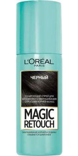 Средства по уходу за волосами Тонирующий спрей для волос LOreal Paris Magic Retouch 1 Черный LOreal