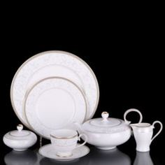Чайные пары и сервизы Сервиз чайный Hankook/Prouna Пандора 22 предмета
