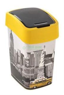 Емкости и мешки для мусора Контейнер для мусора Curver Контейнер для мусора flip bin 25л london (02171-L11-03)