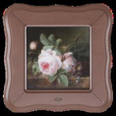 Мебель и декор Bogacho Картина в раме розы на камен. Столешнице 71149. 2000182598362 Bogacho