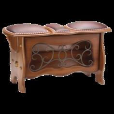 Мебель и декор Bogacho Скамья с обувницей Ренессанс 11156. 2100000015597 Bogacho