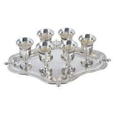 Декоративная посуда Набор рюмок 6шт на подносе Marquis