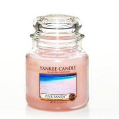 Свечи, подсвечники, аромалампы Аромасвеча в банке Розовые пески 1205340E Yankee Candle