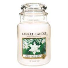 Свечи, подсвечники, аромалампы Аромасвеча в банке бол.мерцание снега Yankee candle 1144158e