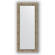 Зеркала для ванной Зеркало в багетной раме Evoform античное серебро 65х155 см