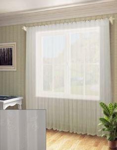 "Шторы и тюль Тюль Sanpa Home Collection ""Дора"" 300х260 см белый"