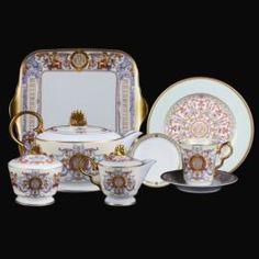 Чайные пары и сервизы Сервиз чайный Hankook Мюзе 28 предмета