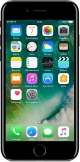 Смартфоны и мобильные телефоны Смартфон Apple iPhone 7 128Gb Jet Black MN962RU/A