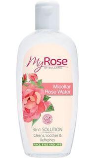 Уход за кожей лица Мицеллярная вода My Rose of Bulgaria Micellar Rose Water 220 мл