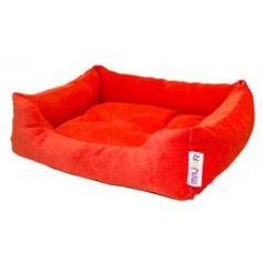 Домики, лежаки, переноски, когтеточки Лежак для животных MAJOR Colour 54см красный
