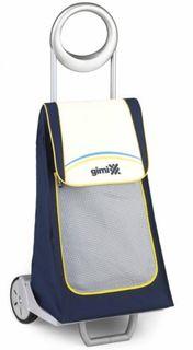 Рюкзаки и чемоданы Тележка хоз. на колесах с термосумкой Gimi family blu 1579584800000