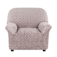 Чехлы для мебели Чехол на кресло Сиена Сатурно коричневый Еврочехол