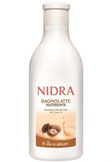 Средства по уходу за телом Пена-молочко для ванны Nidra Питательная с аргановым маслом 750 мл