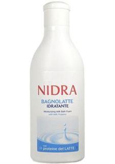 Средства по уходу за телом Пена-молочко для ванны Nidra Увлажняющая с молочными протеинами 750 мл