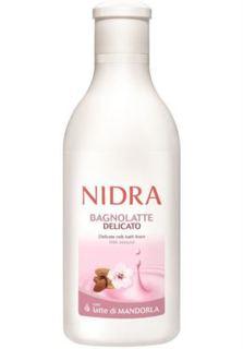 Средства по уходу за телом Пена-молочко для ванны Nidra Деликатная с миндальным молоком 750 мл