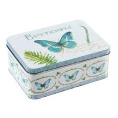 Емкости для хранения Коробка подарочная Bizzotto deco poesia farfalla m