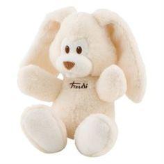 Мягкая игрушка Trudi Заяц Вирджилио кремовый 26 см