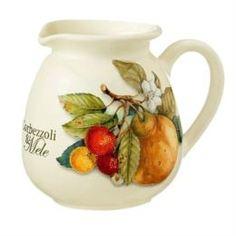 Посуда для напитков Кувшин Nuova cer s n c Сливочник 04л итальянские фрукты (NC7361-CEM-AL)