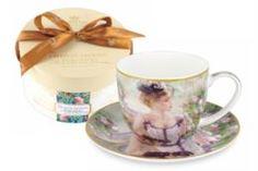 Чайные пары и сервизы Чашка с блюдцем Carmani Утреннее чаепитие 0.28 л