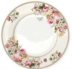 Столовая посуда Тарелка обеденная Nuova R2S Цветочный карнавал 26,5 см