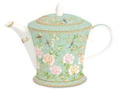 Заварочные чайники и френч-прессы Чайник Easy life 1.0л салатовый дворцовый парк