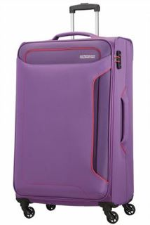 Рюкзаки и чемоданы Чемодан American Tourister Holiday Heat фиолетовый S
