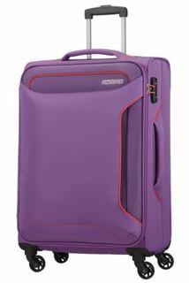 Рюкзаки и чемоданы Чемодан American Tourister Holiday Heat фиолетовый M