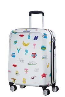 Рюкзаки и чемоданы Чемодан American Tourister Ceizer Fun белый принт S