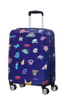 Рюкзаки и чемоданы Чемодан American Tourister CEIZER FUN синий принт S
