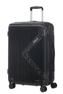 Рюкзаки и чемоданы Чемодан American Tourister Modern dream черный с блеском M