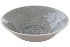 Столовая посуда Салатник Easy Life Ambiente серый 22 см