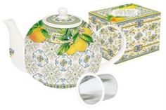 Заварочные чайники и френч-прессы Чайник с ситечком Easy Life Капри 1 л