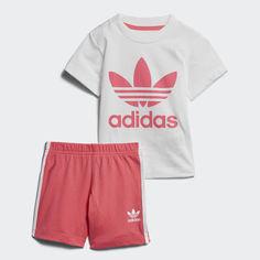Комплект: футболка и шорты adidas Originals