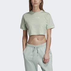 Укороченная футболка Coeeze adidas Originals