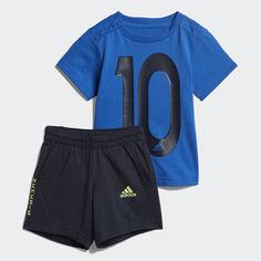Комплект: футболка и шорты Mini Me adidas Performance