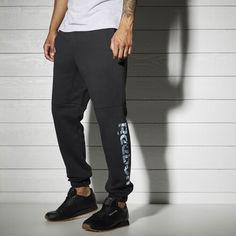 Флисовые спортивные брюки Reebok