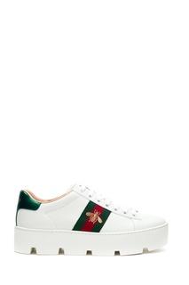 Кроссовки на платформе Ace Gucci