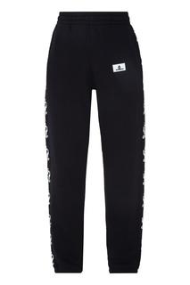 Черные спортивные брюки Off White
