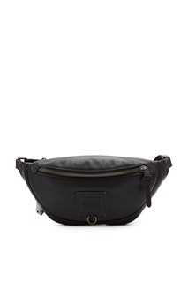 Черная поясная сумка Rivington Coach