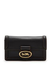 Черная сумка-трансформер Riley Coach