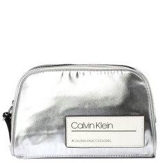 Косметичка CALVIN KLEIN K60K605467 серебряный