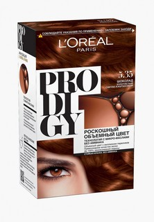 "Краска для волос LOreal Paris L'Oreal ""Prodigy"" без аммиака, оттенок 5.35, Шоколад"