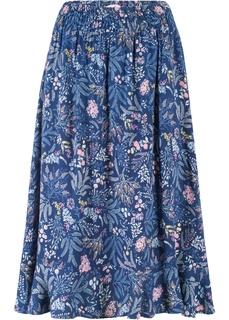 Юбки Пёстрая юбка с воланом Bonprix