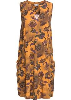 Короткие платья Платье из трикотажа Bonprix