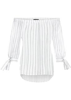 Блузки с длинным рукавом Блузка с открытыми плечами Bonprix