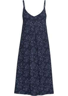 Короткие платья Платье с принтом, из трикотажа Bonprix